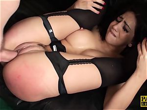 PASCALSSUBSLUTS - sizzling Julia de Lucia ball-gagged and torn up stiff