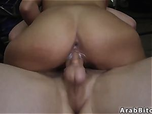 Public pay cash and arab duo first time Desert poon