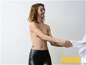 faux Agent Money drives cute hairless vagina nubile