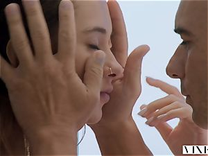 VIXEN huge-boobed hottie Liya Silver Can't Wait For Her boyfriend Anymore