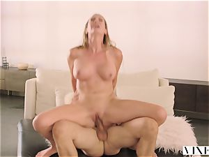 VIXEN Brett Rossi likes To Get predominated By A giant manmeat