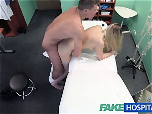 fake clinic physician finds sexual surprise in pussy