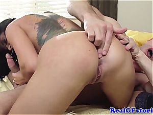 Housewife Romi Rain horny in the morning for weenie