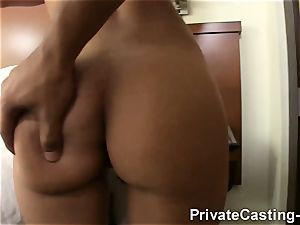 intimate casting X - Latina vulva is the hottest