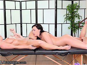 AllGirlMassage mummy Abigail Mac NEEDS sizzling nubile massage
