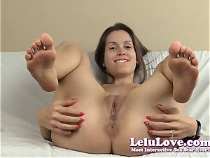 opening up my cunny and pink hole with lots of feet and...