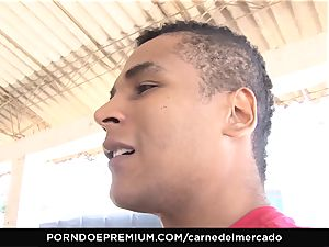 CARNE DEL MERCADO - super-naughty sandy-haired first ravage on camera