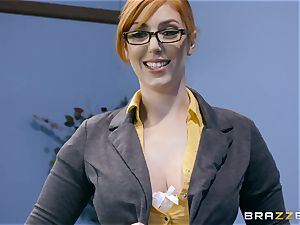 man-meat hungry Lauren Phillips plowed in her ginger labia