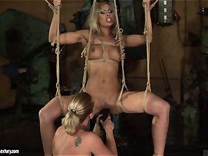 Kathia Nobili enjoy smashing the super-hot damsel with faux-cock