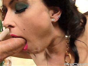 antique pecker eating brunette ultra-cutie Jessica Jaymes
