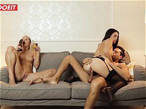 LETSDOEIT - insane wifey Gets plumbed hardcore By Swingers