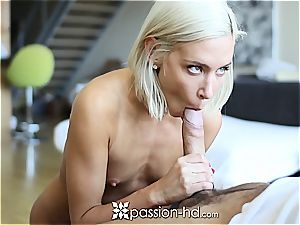 nasty Kacey Jordan gets a workout jacking and fellating meatpipe