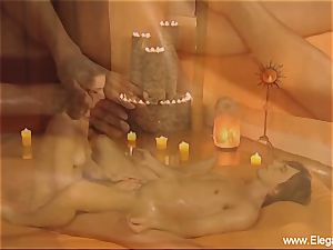 hand-job massage instruction From India