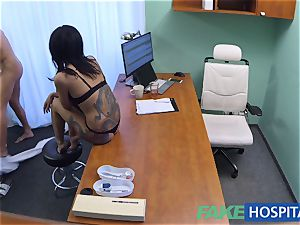 FakeHospital insatiable Russian honey takes off and screws