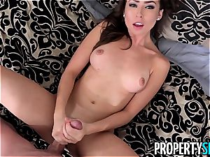 PropertySex super-steamy Agent Melissa Moore bangs For Listing