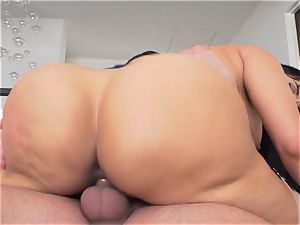 Milffest pt5 mummy Mercedes Carrera takes it deep in the pussy