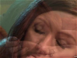 Maddy OReilly gets her mouth crammed with ginormous jizz