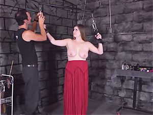 chained nubile lashed